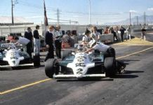 Williams FW07 Carlos Reutermann 1981 Las Vegas GP photo